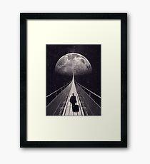 Space Trip Framed Print