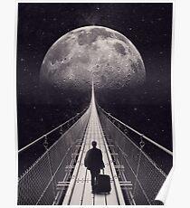Weltraumausflug Poster