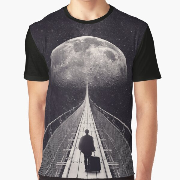 Space Trip Graphic T-Shirt
