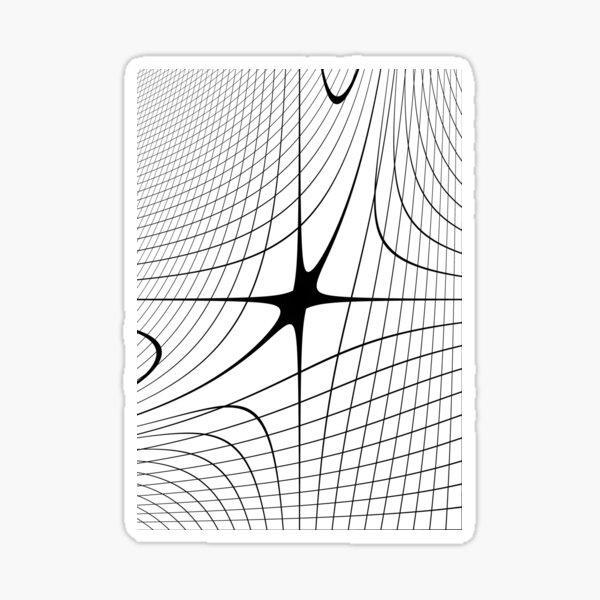 #blackandwhite #structure #circle #monochrome #lineart #symmetry #abstract #design #pattern #modern #architecture #shape #steel #futuristic #art #grid #vertical #photography #geometricshape #inarow Sticker
