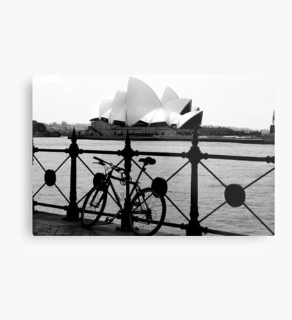 The Cycle and  Sydney Opera House Metal Print