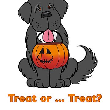 Trick or Treat Newfoundland Dog by itsmechris