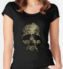 Old-Skull Women's Fitted Scoop T-Shirt