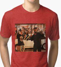 0fbdb377 Bad Bunny x Drake - MIA Tri-blend T-Shirt