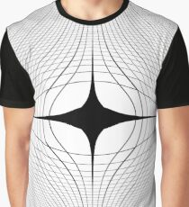 #blackandwhite #monochrome #circle #design #abstract #pattern #illustration #symmetry #vertical #photography #inarow #nopeople #decoration Graphic T-Shirt