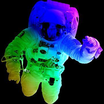 Rainbow Astronaut by TheFlying6
