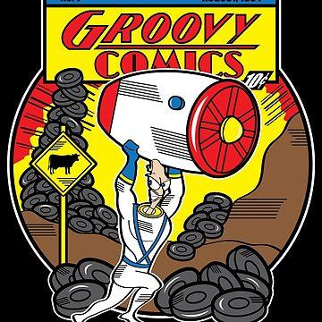 Groovy Comics by JRBERGER