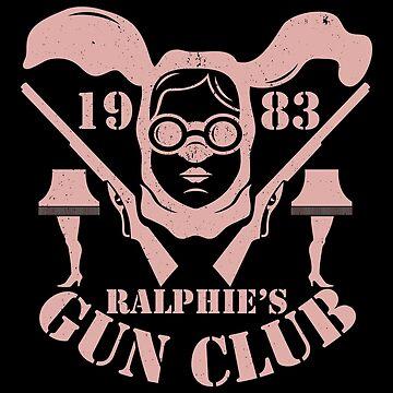 Ralphie's Gun Club by JRBERGER