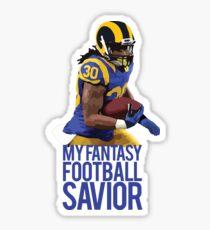 Todd Gurley - Fantasy Football Savior Sticker d1b8c7448