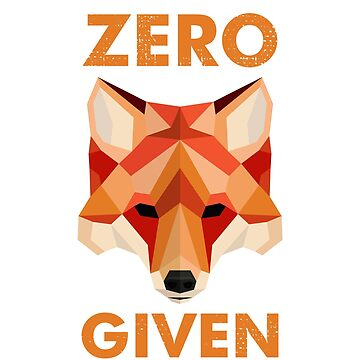 Zero Fox Given Cute Geometric Animal by yajyolid