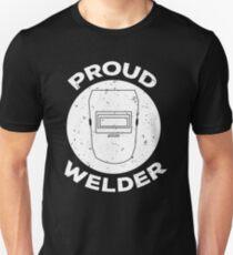 Proud Welding Cool Welding Mask T-shirt Unisex T-Shirt