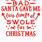 Funny Christmas Workout Weightlifting Exercise Gym by emkayhess