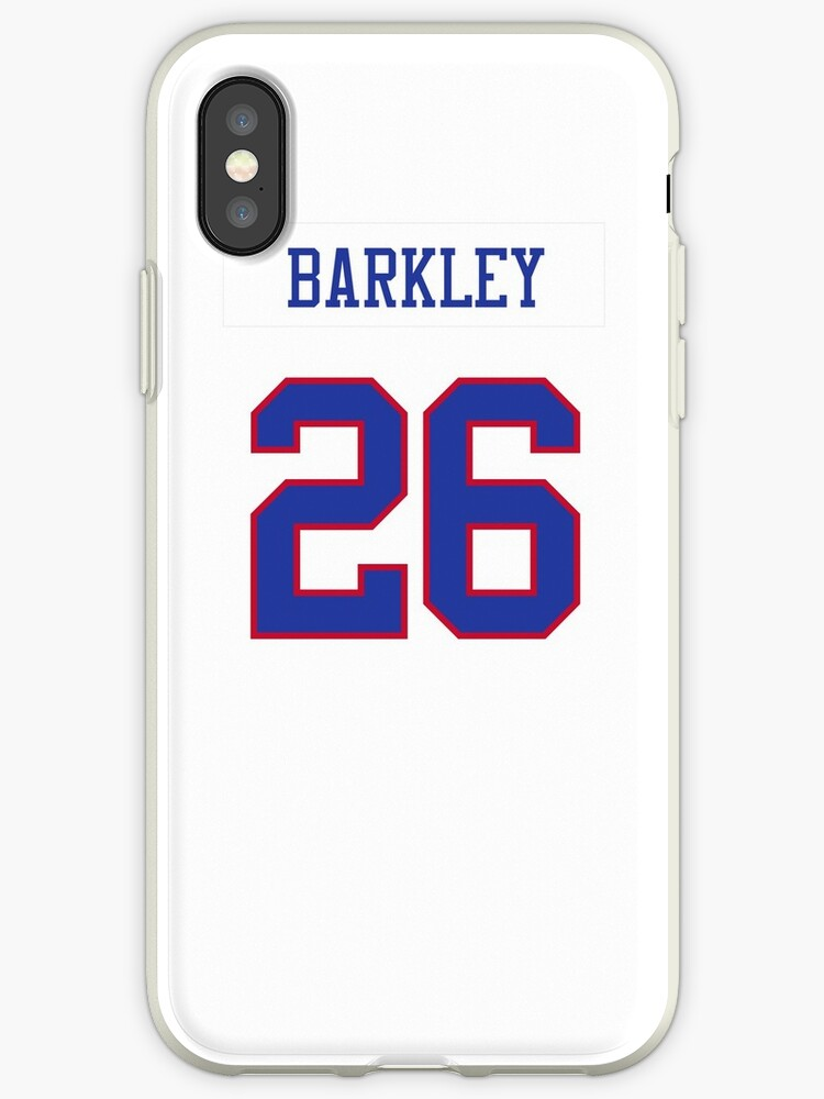 sports shoes 1f37f 6069b 'Giants Color Rush Jersey Barkley Phone Case' iPhone Case by jm95
