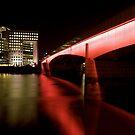 Bridge across the Thames by Alastair Humphreys