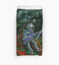 MUSIC IS HIS OXYGEN! Duvet Cover