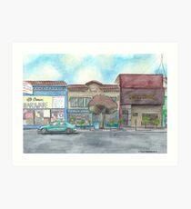 """Morning on Balboa St."" by Robin Galante Art Print"