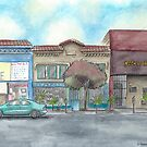 """""""Morning on Balboa St."""" by Robin Galante by Robin Galante"""