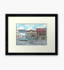 """Morning on Balboa St."" by Robin Galante Framed Print"