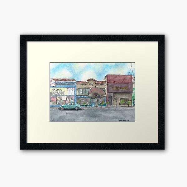 """""""Morning on Balboa St."""" by Robin Galante Framed Art Print"""