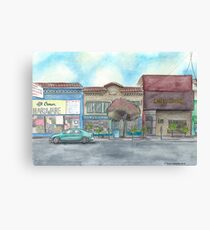 """Morning on Balboa St."" by Robin Galante Canvas Print"