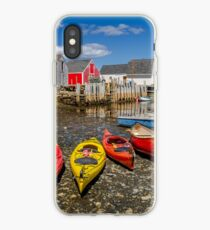 Low Tide at Blue Rocks  iPhone Case