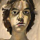 Self Portrait: Art School Daze by Grove Wiley