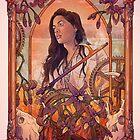 Mattie | Der Magier | Wynonna Earp Tarot von TaylorRoseArt