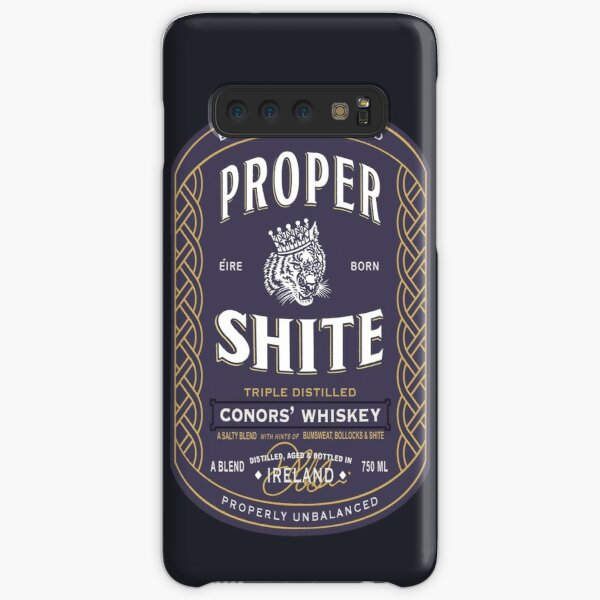 Proper Shite Whiskey Samsung Galaxy Snap Case
