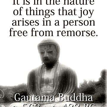 It Is In The Nature Of Things - Buddha by CrankyOldDude