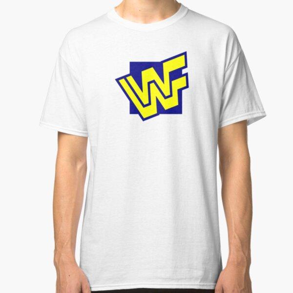 Vintage WWF World Wrestling Federation Logo, 1994 Classic T-Shirt