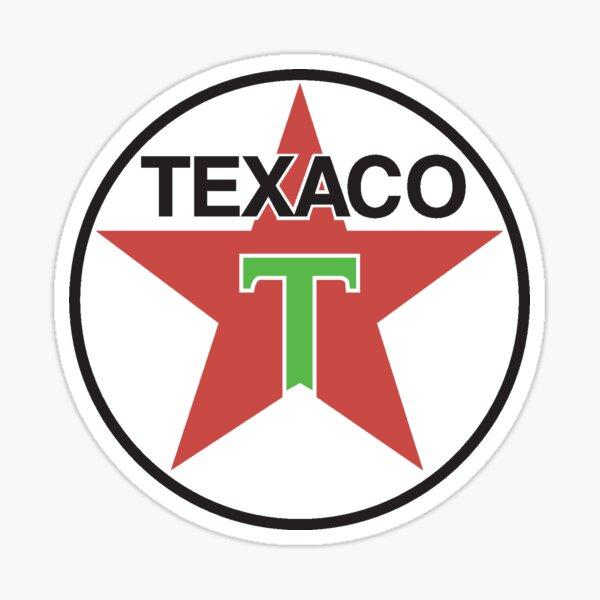 Vintage Texaco Logo, 1941 Sticker