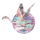 Fly pelican fly by Nynrafa