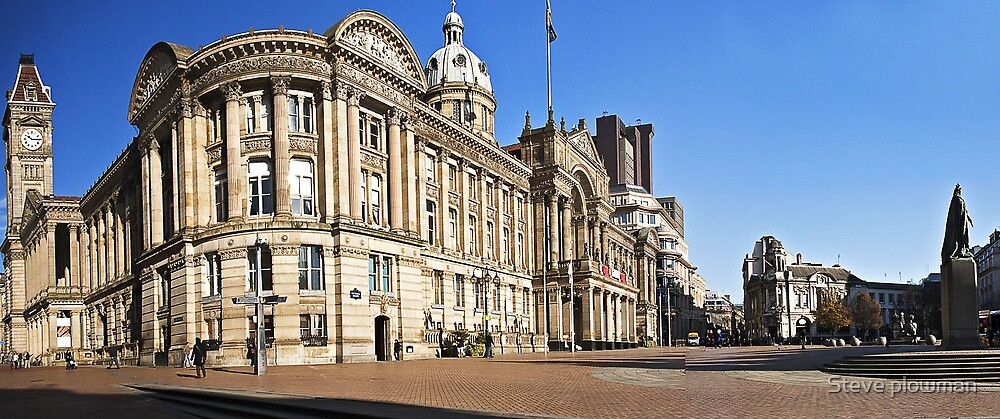 Birmingham Council House by Steve plowman