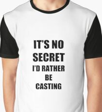 Casting Sport Fan Lover Funny Gift Idea Graphic T-Shirt