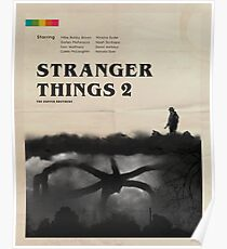 Stranger Things 2 Vintage Poster
