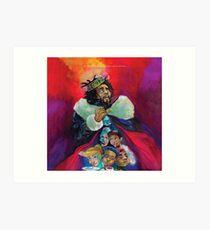 Lámina artística el rey