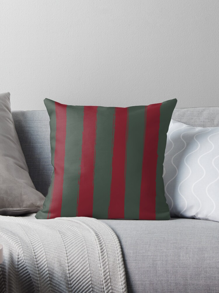 Green Brushed Stripes-A Hint of Christmas by broadmeadow
