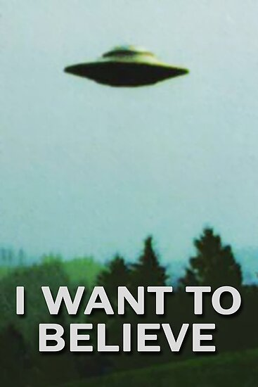 "The X-Files I WANT TO BELIEVE original poster"" Poster by ..."