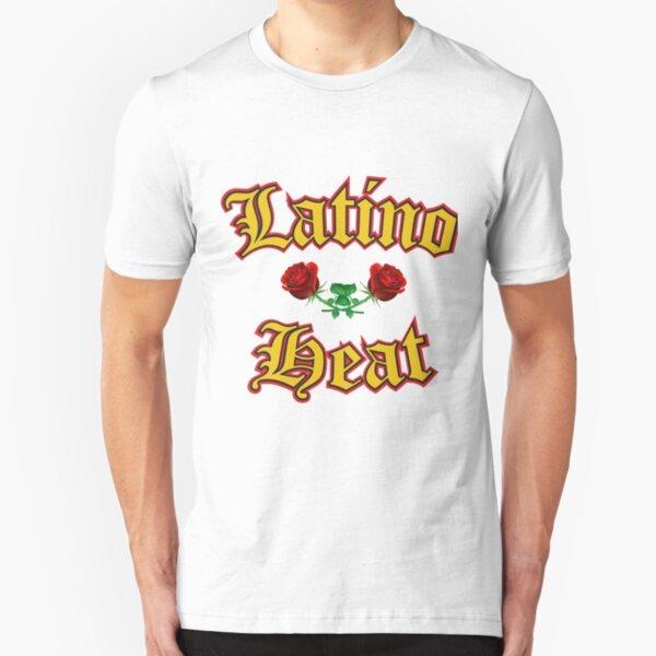 Latino Heat - Reggaeton design Slim Fit T-Shirt