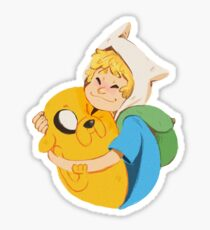 Finn and Jake sticker Sticker
