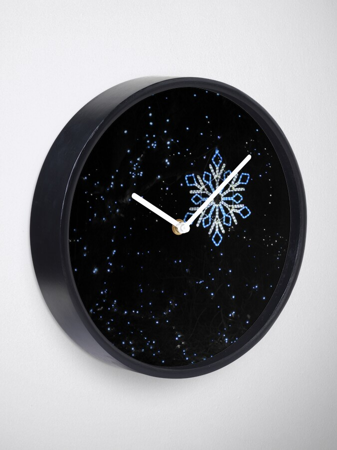 Alternate view of Ice Blue Light - Selective Coloring Clock