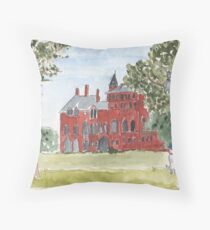 Mount Stuart House Rothesay Isle of Bute Throw Pillow