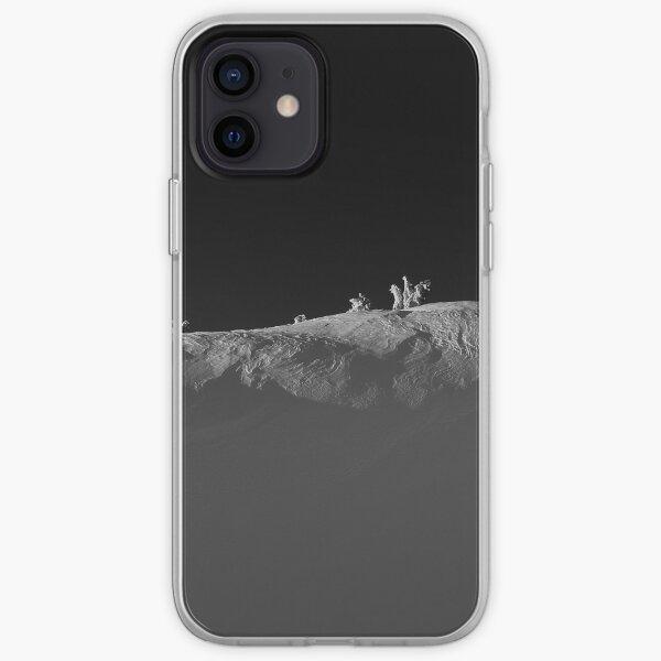 Windy Alpine Ridge in Winter iPhone Soft Case