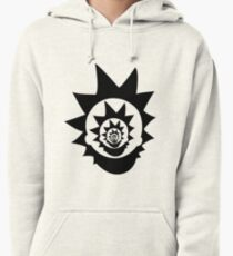 Rick and Morty - Trippy Design Pullover Hoodie