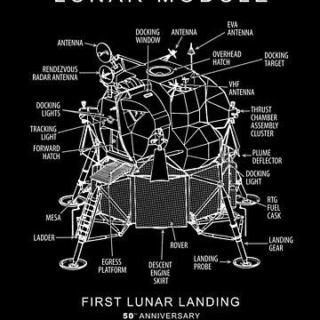 Apollo 11 Lunar Module-50th Anniversary,Lunar Landing,Moon,Space by carlosafmarques