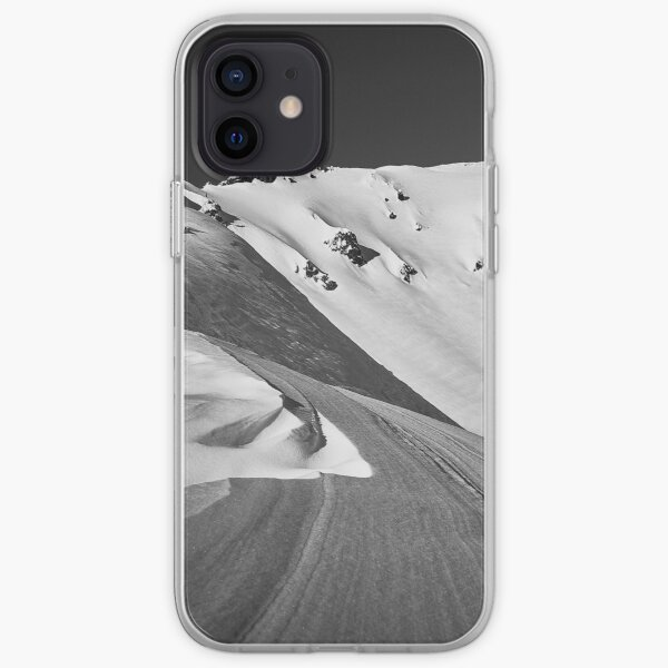 Snow Covered Summit of Mt. Bailey, Oregon iPhone Soft Case