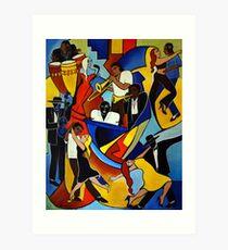 Colores Salsa Art Print