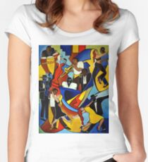Colores Salsa Fitted Scoop T-Shirt