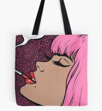 Pink Smoking Comic Mädchen Tasche