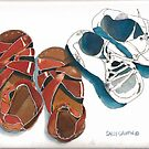 Baby Shoes by Sally Griffin